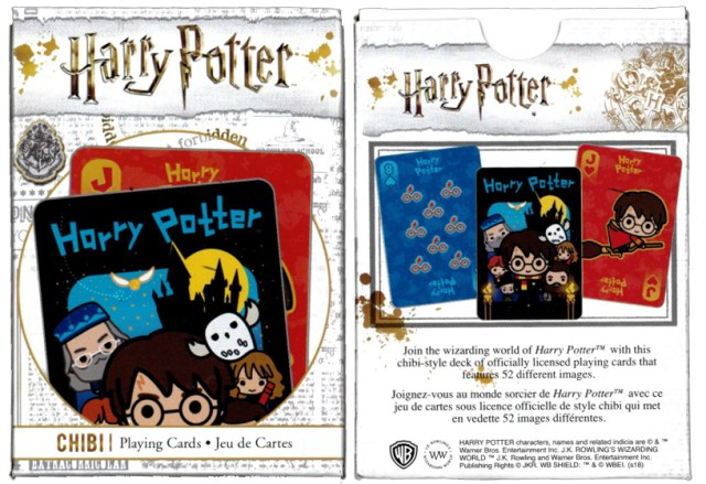 Harry Potter Chibi Deck Box
