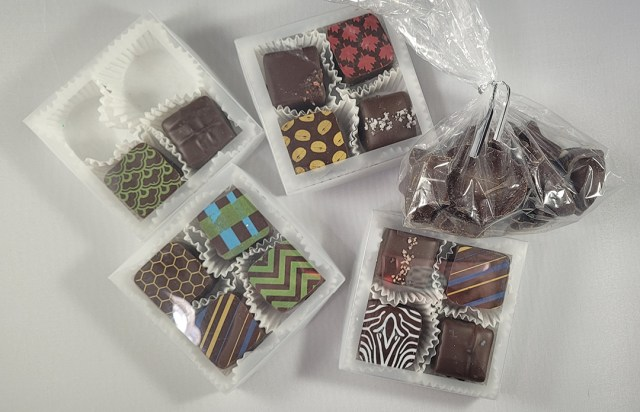 Delicious chocolates from Modern Chocolatier