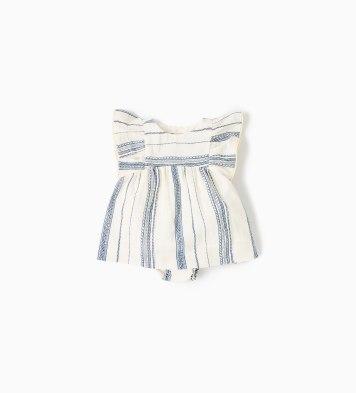Rustic Striped Dress