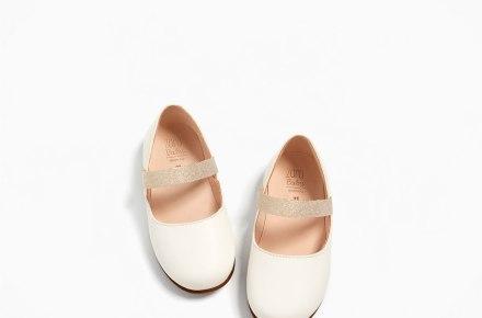 Zara Leather Ballerina