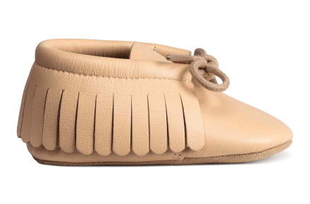 H&M Leather Moccasins