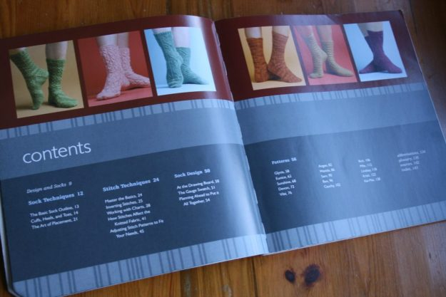 Contents page of Sock Innovation