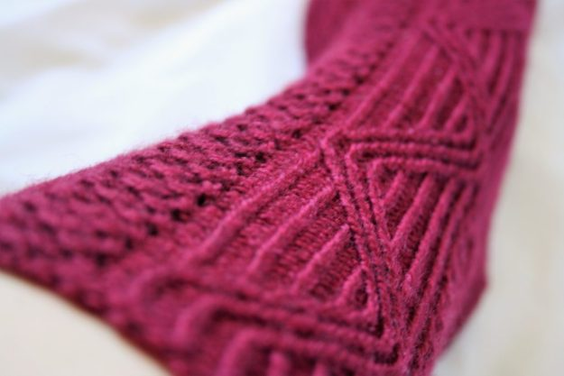 Close up of Total Internal Reflection Socks
