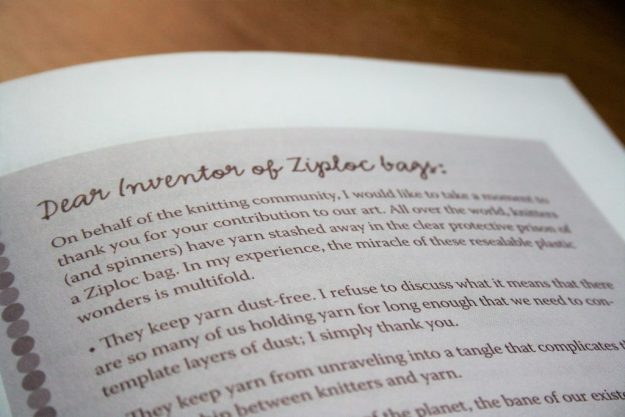 Letter to Inventor of Ziploc bags