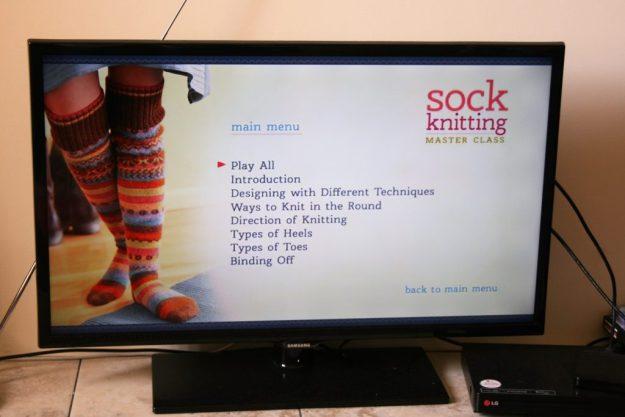Sock Knitting Master Class DVD