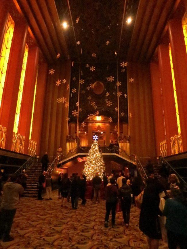 lobby of the Paramount