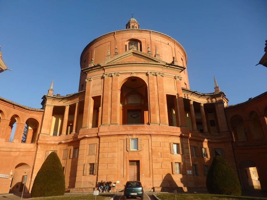 The Sanctuary of the Madonna of San Luca outside of Bologna