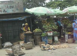 Driving through Lagos, Nigeria