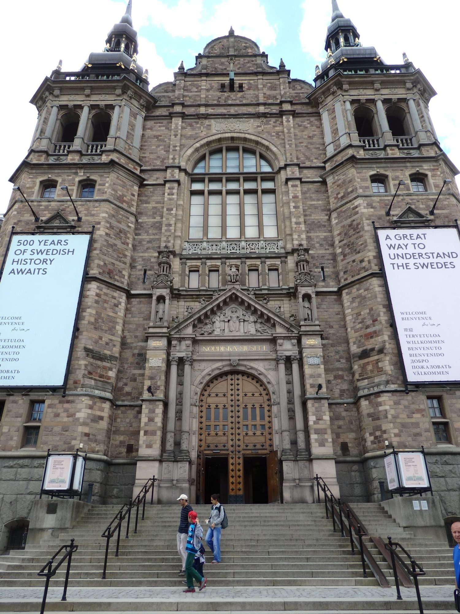 The Nordic Museum in Sweden, Scotland