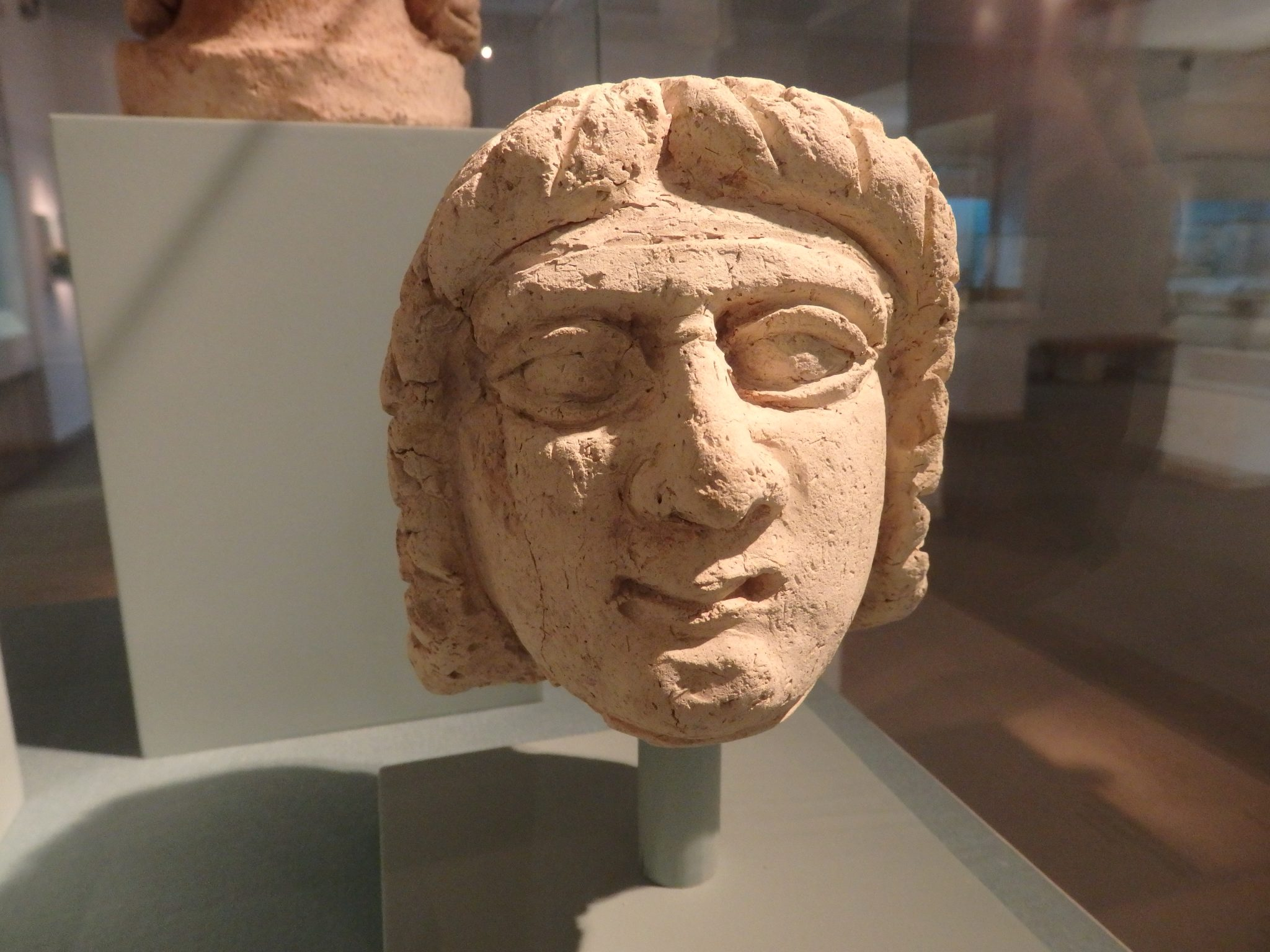 a Mesopotamian matriarch from ca. 2000-1750 BCE in the Bible Lands Museum in Jerusalem.