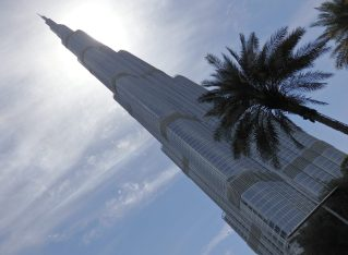 Visiting Burj Khalifa, the tallest building in the world … for now