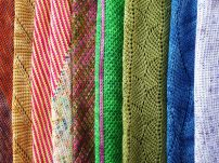 Crochet tunisien en couleurs