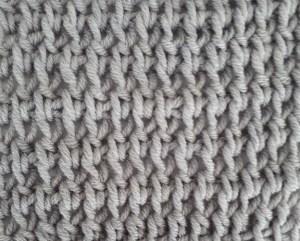 Tunisian double crochet knit stitch