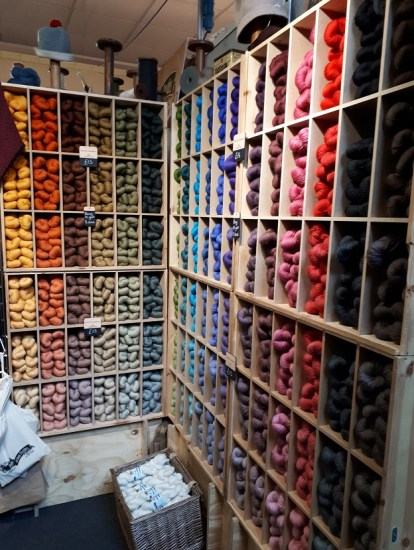 Knit by numbers - John Arbon Textiles
