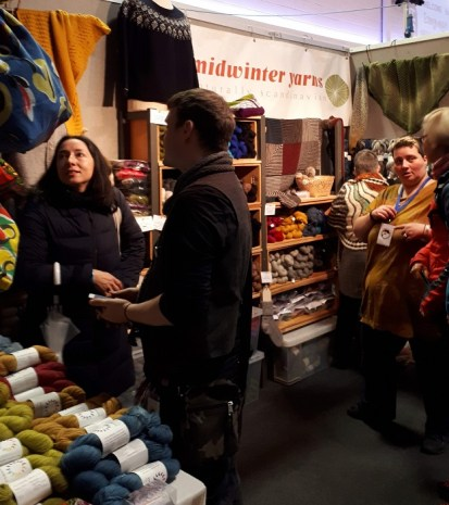 Midwinter yarns au EdinYarnFest