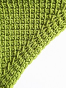 Increase with knit and simple stitches