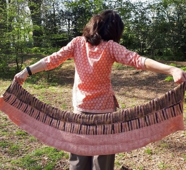 Tunisian crochet pattern Extraordinary garden