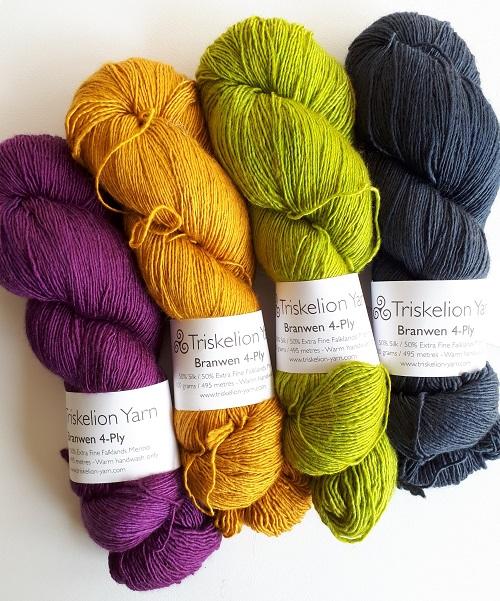 Triskelion Yarn, Branwen 4-Ply