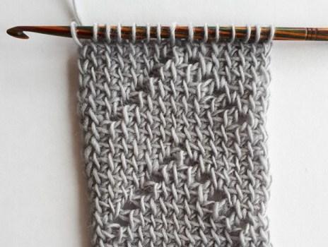 échantillon de crochet tunisien