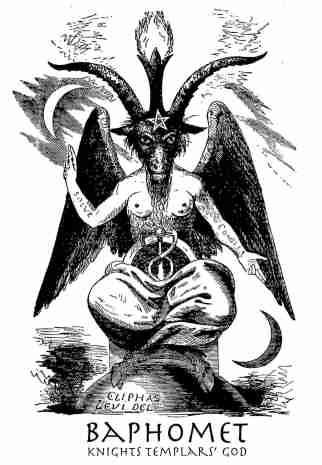 Image result for baphomet transgender god