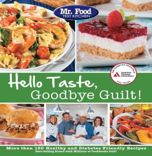 Mr. Food's Hello Taste, Goodbye Guilt! Cover