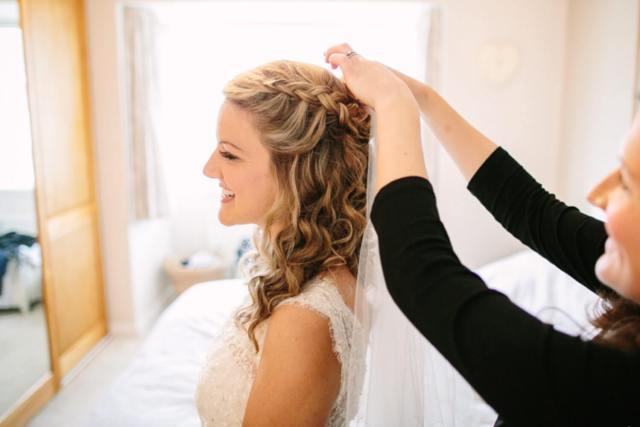 wedding hair by rachel kendrick | keswick, the lake district
