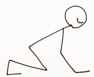 toe felxor stretch
