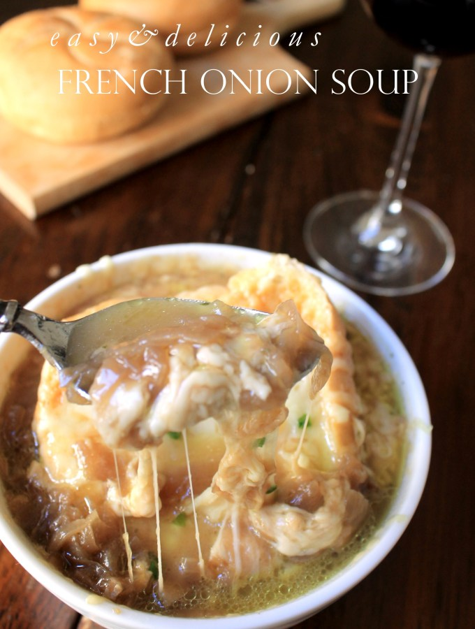 Easy and Delicious French Onion Soup