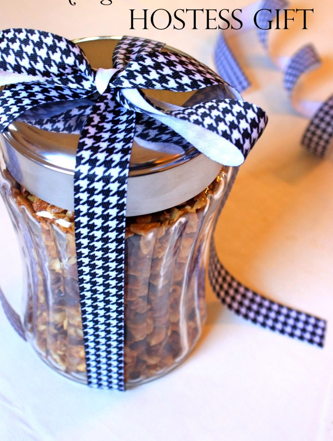 Matzah Granola Hostess Gift