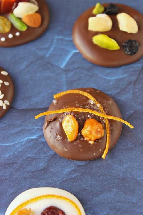Homemade Chocolate Coins