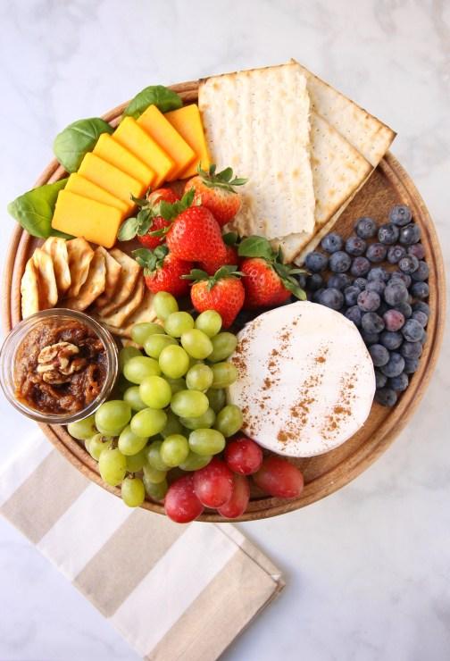 Sephardic Charoset Cheese Board How-To