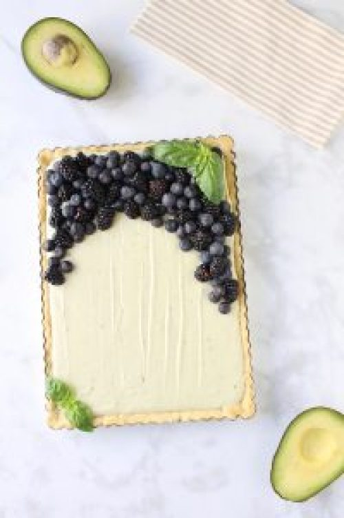 Creamy Avocado Cheesecake