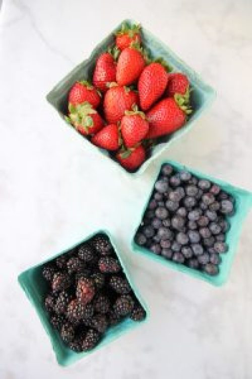 Red White and Blue Dessert Board