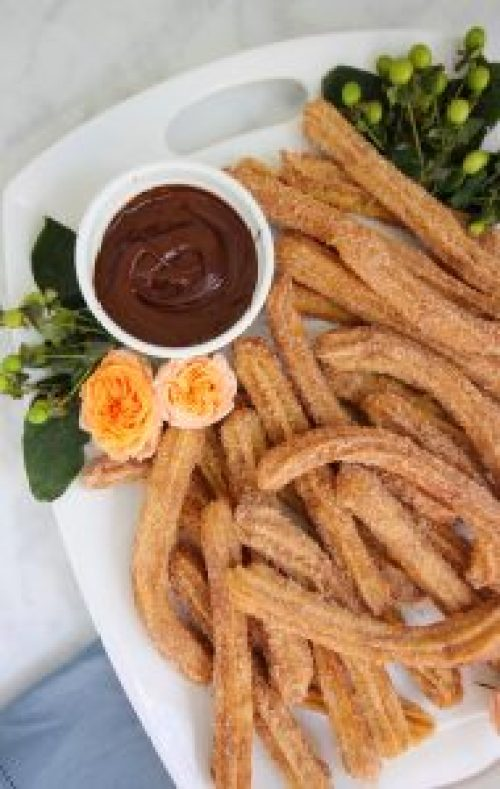 The Best Baked Churros