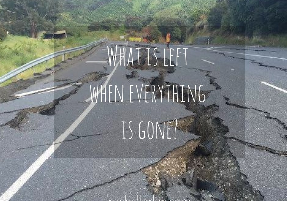 What is left when everything is gone? – The Three Essentials for Living