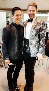 Francis Libiran and Jon de Porter