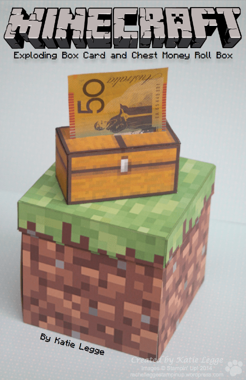 Minecraft Exploding Box Card Rachel Legge Independent