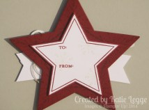 Katie Legge Stampin Up Many Merry Stars Ornament in a Card 4
