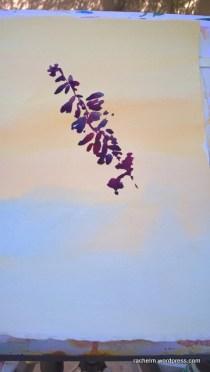 Garden Wall Shadow Rachel Murphree watercolor (2)