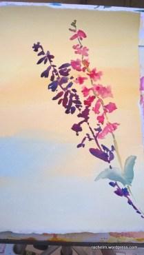 Garden Wall Shadow Rachel Murphree watercolor (3)