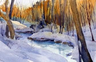 Tony Connor watercolor: Quiet