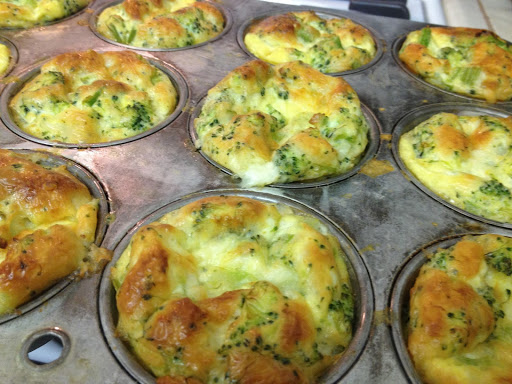 Finally Feeling Like a Parent, and Broccoli Cheese Egg Cups