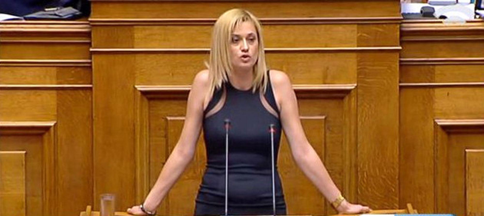 Ραχήλ Μακρή: «Έδωσαν 1 εκατ. ευρώ για ταινία της κόρης του Αντιπροέδρου της κυβέρνησης ΣΥΡΙΖΑ και σταμάτησαν τις ανασκαφές στην Αμφίπολη, για 1 εκατ. Ευρώ»