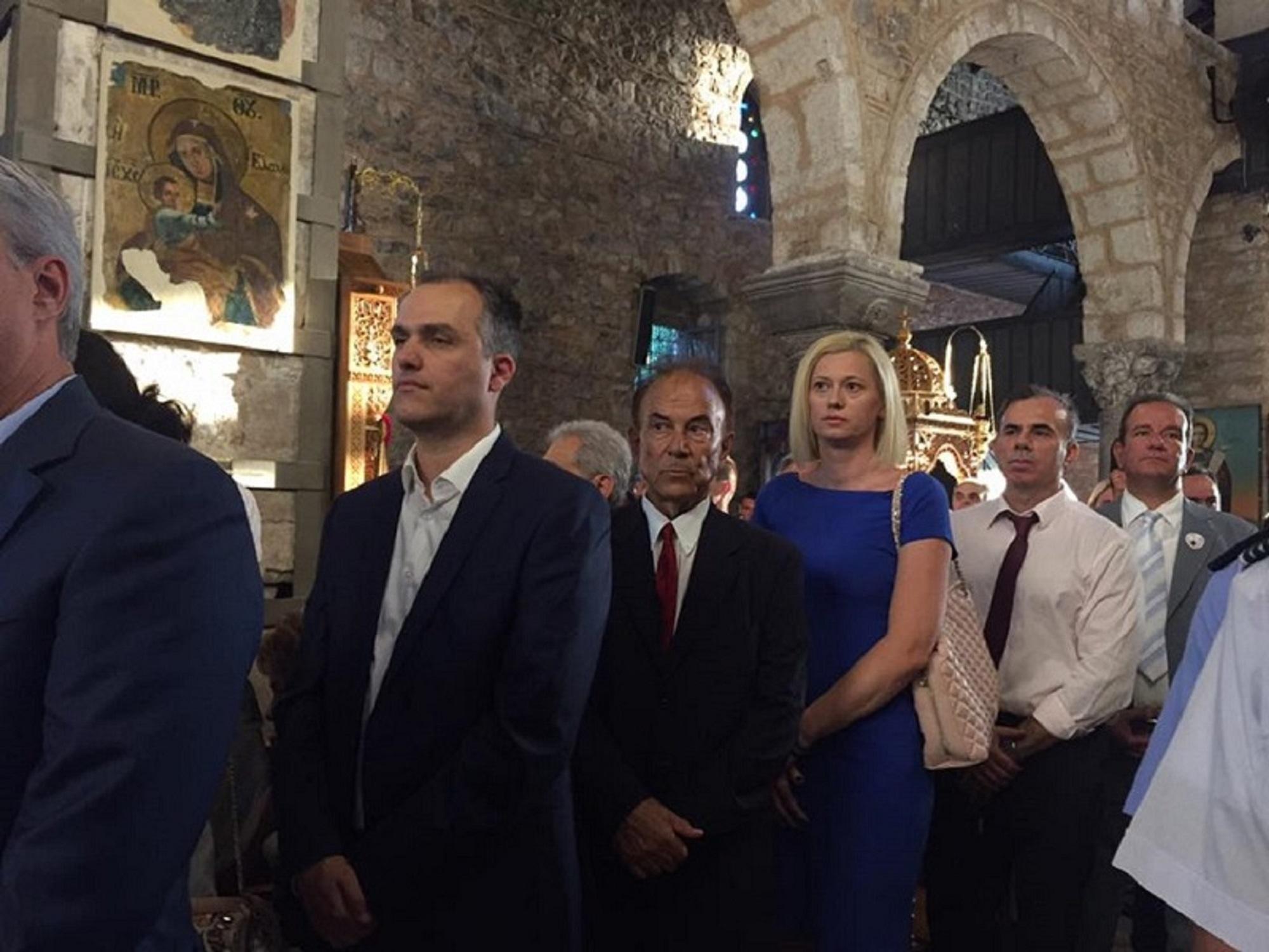 Η Ραχήλ Μακρή στον εορτασμό της Αγίας Παρασκευής, στην Χαλκίδα | 25.07.2017