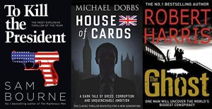 Book Recommendations: Political Thrillers