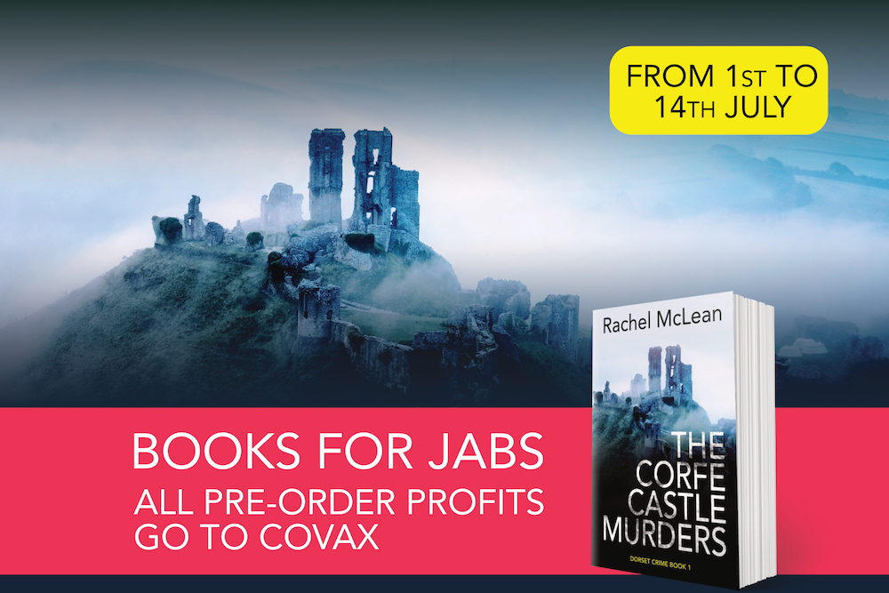 Books for jabs: all pre-order profits to COVAX