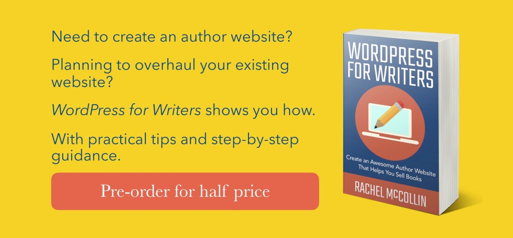 WordPress for writers - preorder for half price