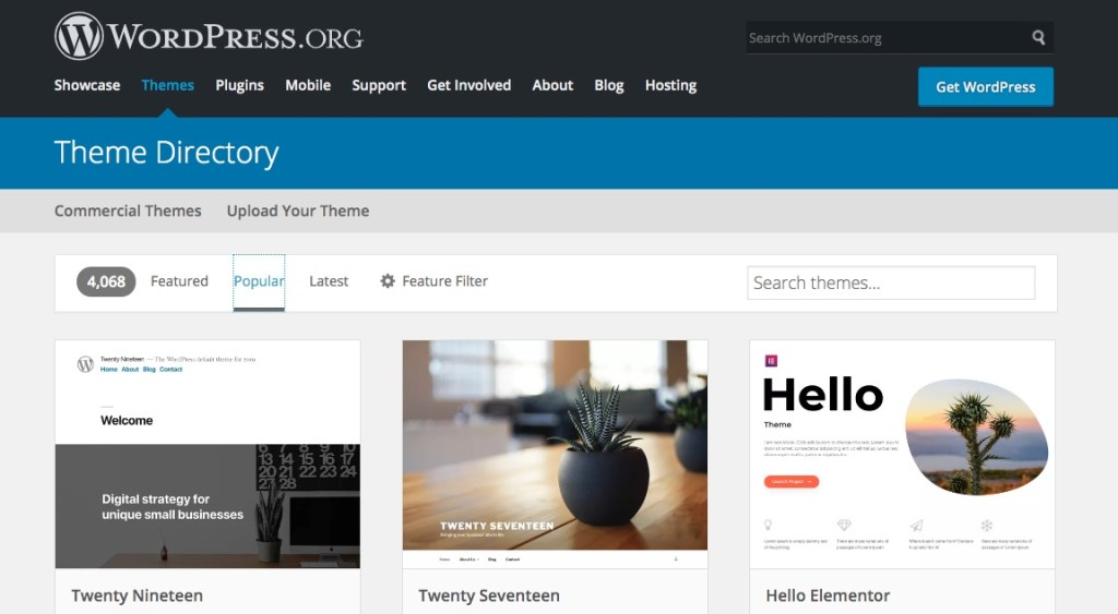 Top WordPress Themes for author websites