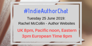 Chatting About Author Websites on the #IndieAuthorChat
