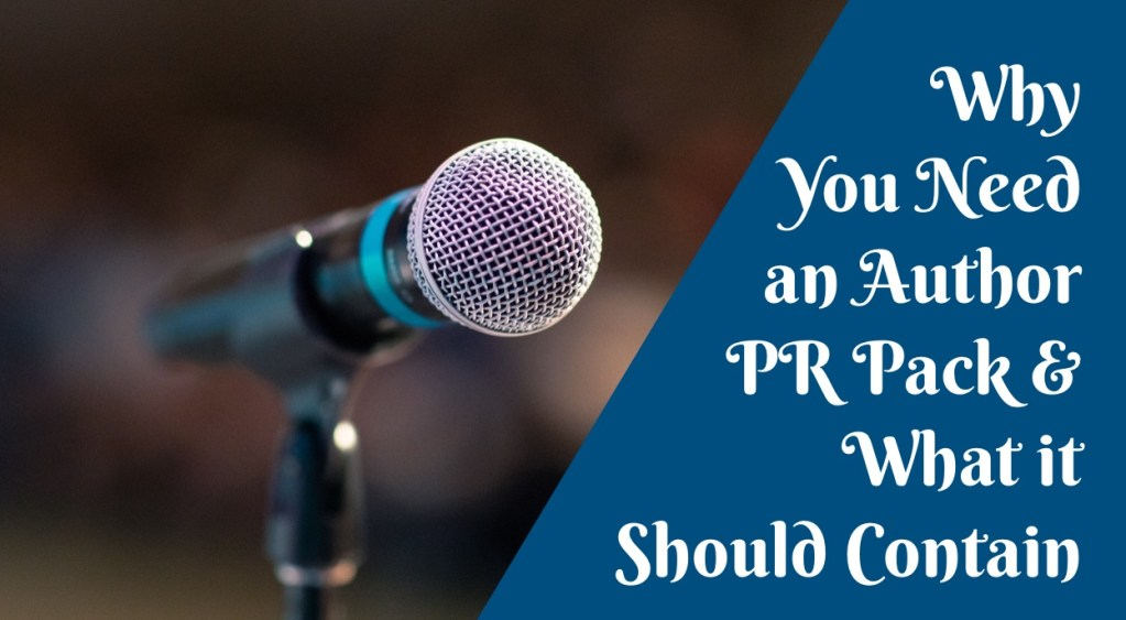 why you need an author pr pack and what it should contain